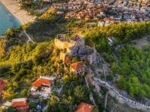 Alanya Castle and Corana Virus