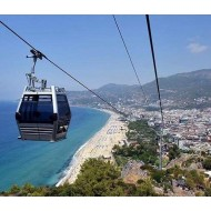 Alanya city tour and Cable Car