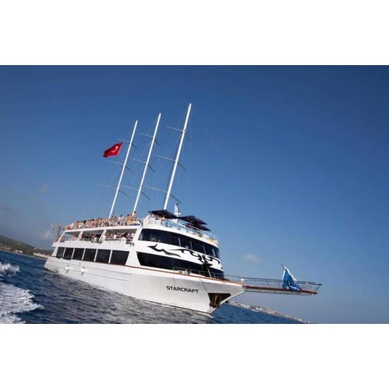 Alanya  Starcraft Boat Trip | Alanya Starcraft Yacht Tour
