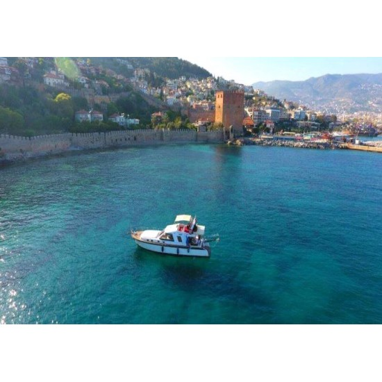 Alanya Private Boat | Alanya Private Yacht Tour